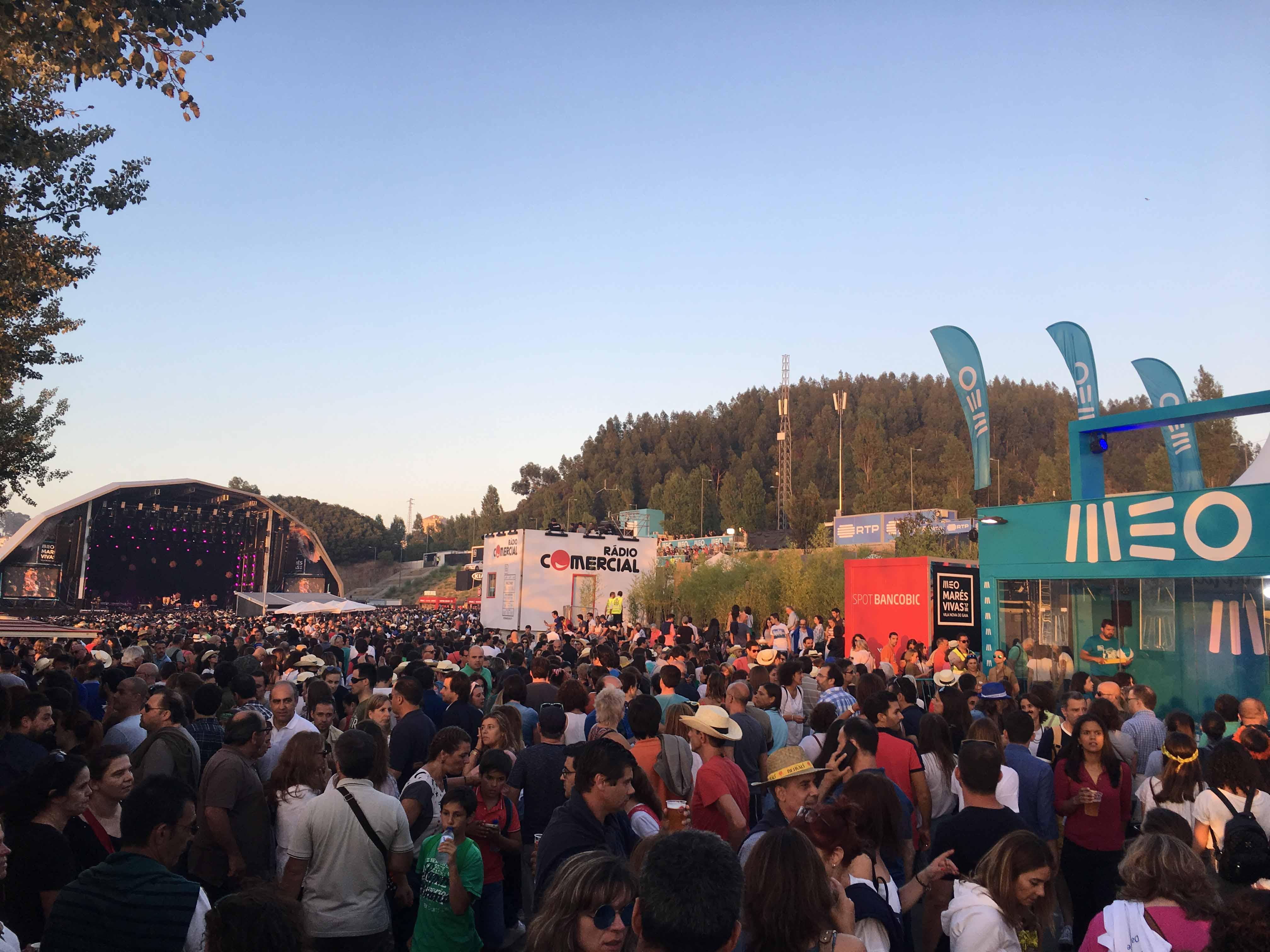 MEO Marés Vivas, Concerto, Sting, Música, Praia do Cabedelo, Vila Nova de Gaia