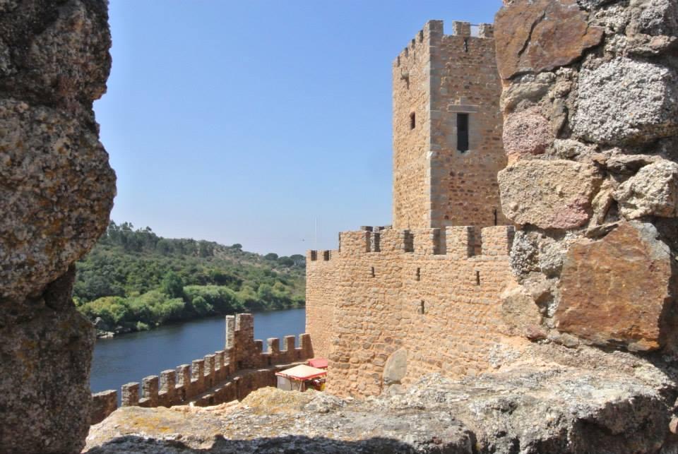 castelo de almourol, tejo, portugal