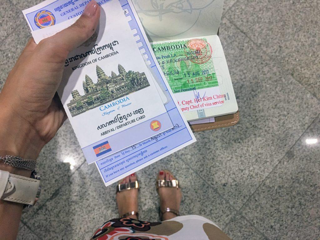 visa cambodja, cambodia