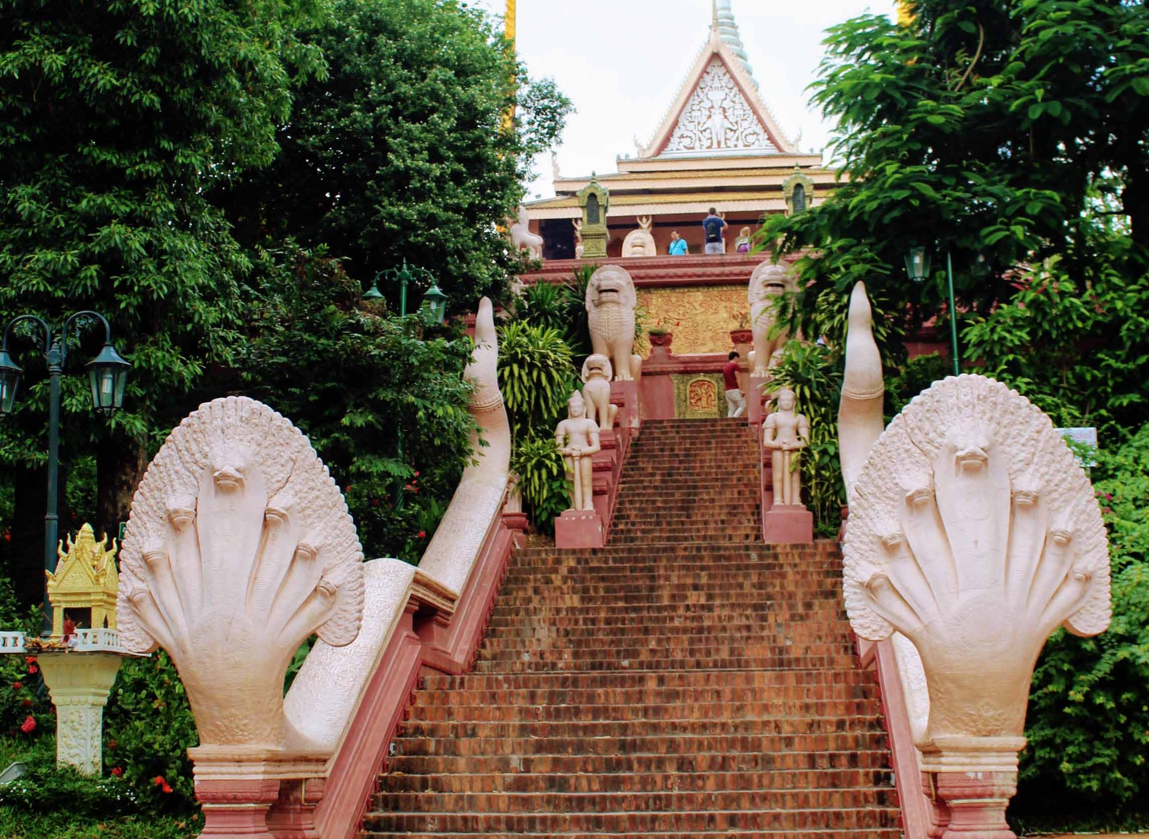wat phnom, phnom penh, cambodja