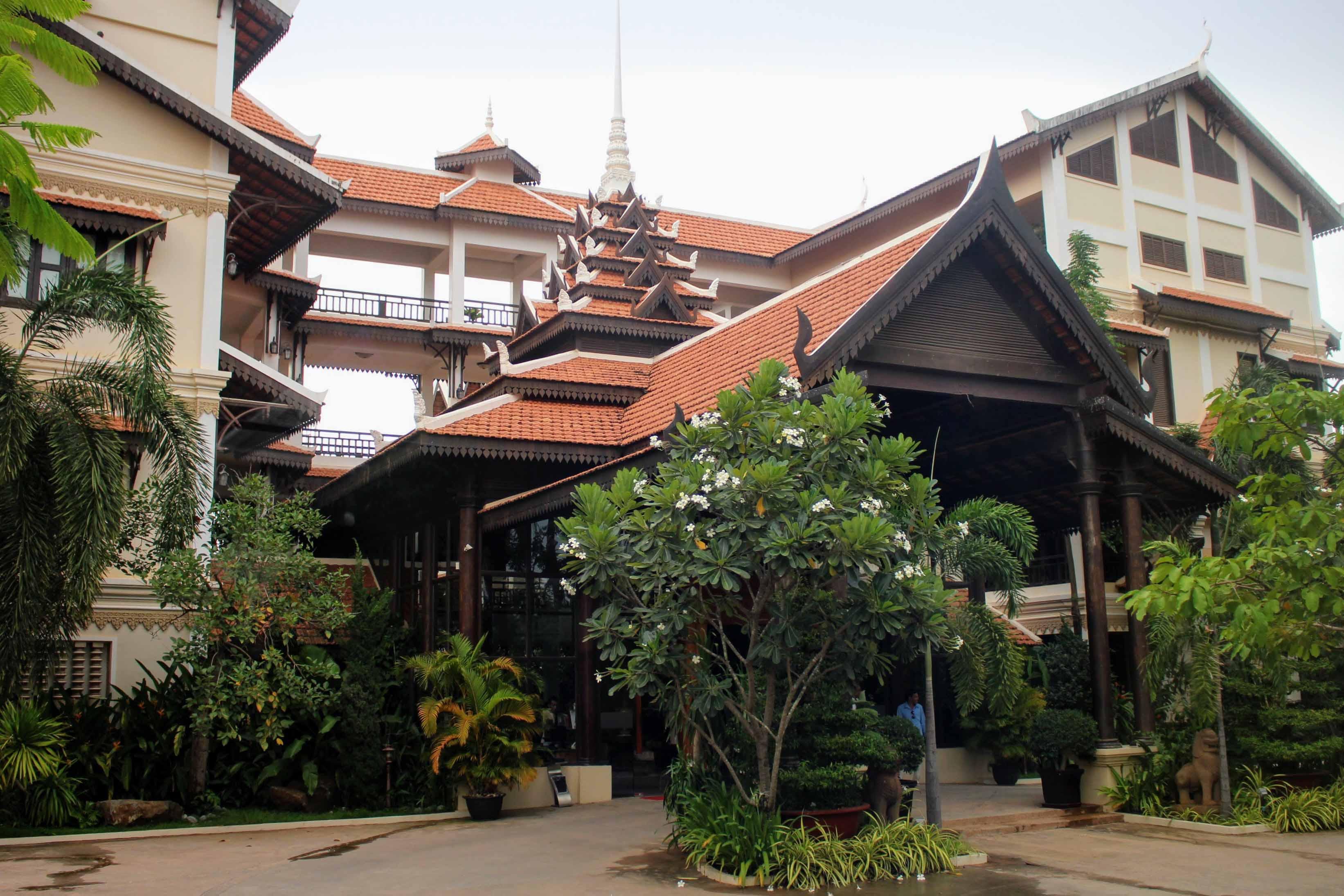 saem siemreap hotel, siem reap, cambodja, angkor