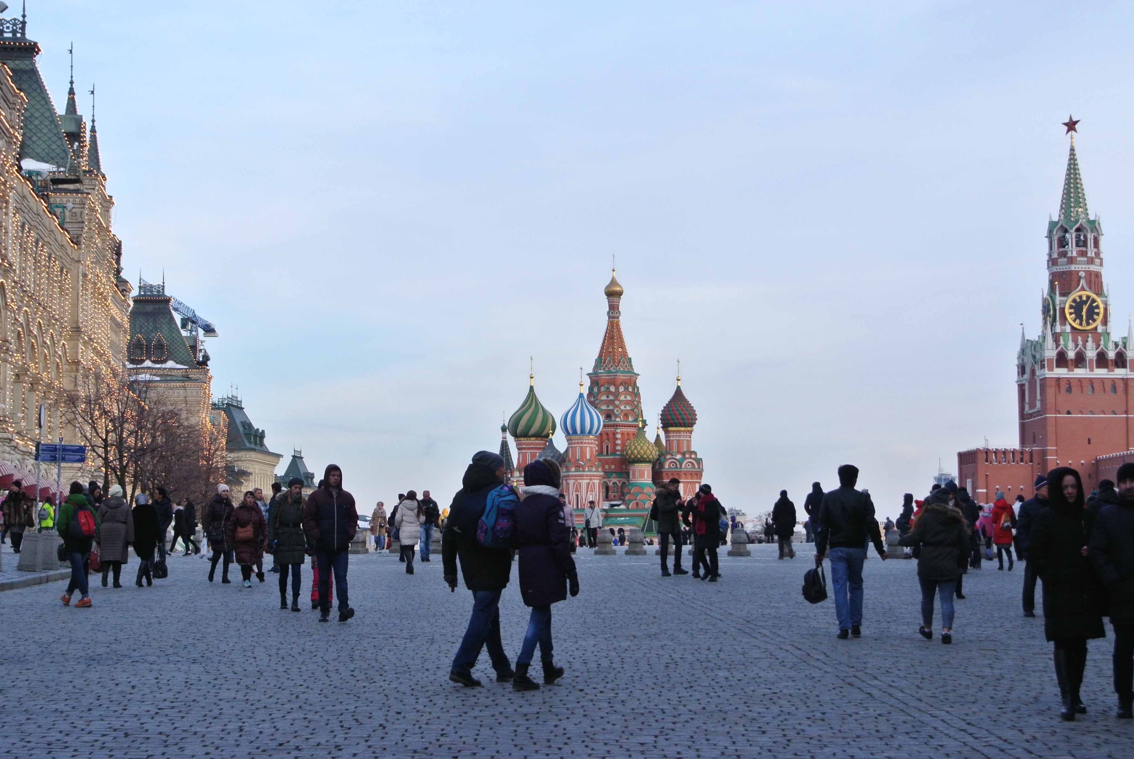 moscovo russia praça vermelha