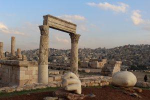 amã jordânia cidadela