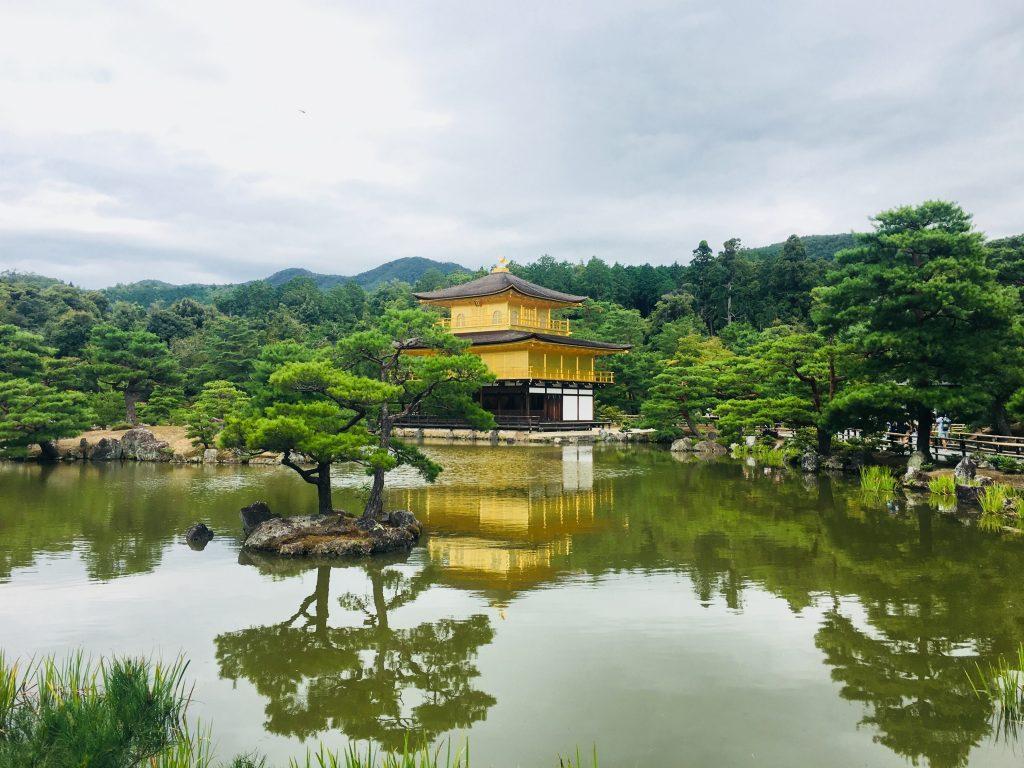quioto japão templo dourado