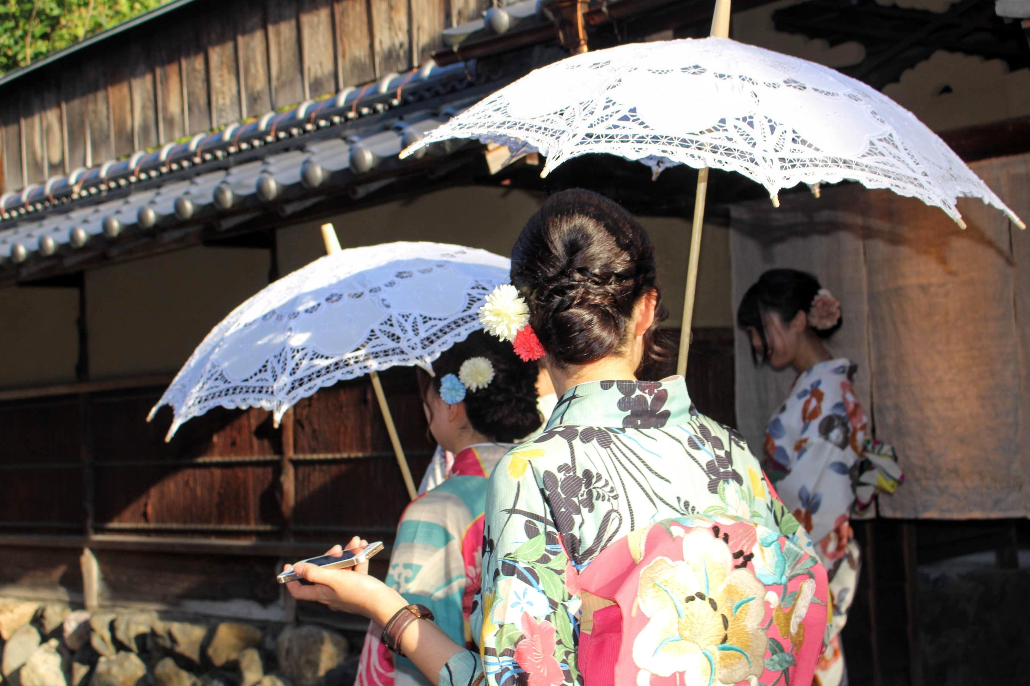 quioto japão old town tradicional